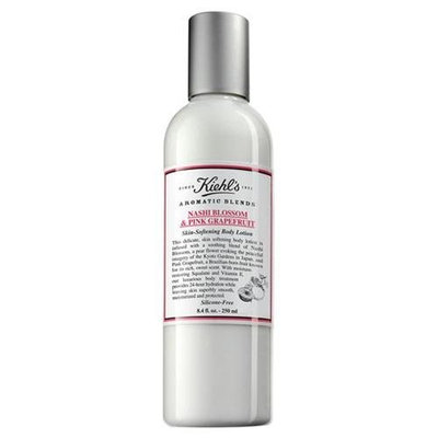 Kiehl's Skin Softening Body Lotion - Nashi Blossom & Pink Grapefruit 8.4oz 250ml (for Men and Women)
