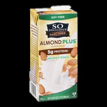 So Delicious Almond + Plus Almondmilk Unsweetened