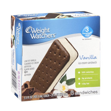 Weight Watchers Vanilla Ice Cream Sandwich - 6 CT