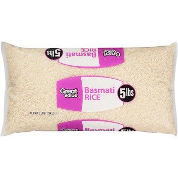 Wal-mart Stores, Inc. Great Value Basmati Rice, 5 lb