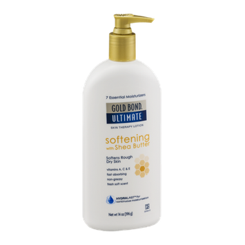 Gold Bond Ultimate Skin Therapy Lotion Softening with Shea Butter