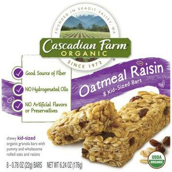 Cascadian Farm Organic Oatmeal Raisin Granola Bars 8 pk