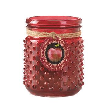 Koehlerhomedecor Macintosh Apple Hobnail Jar Candle