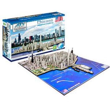 4D Cityscape 4D Chicago Skyline Time Puzzle