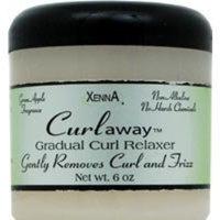 Xenna Curlaway Gradual Curl Relaxer Green Apple Fragrance -- 6 oz