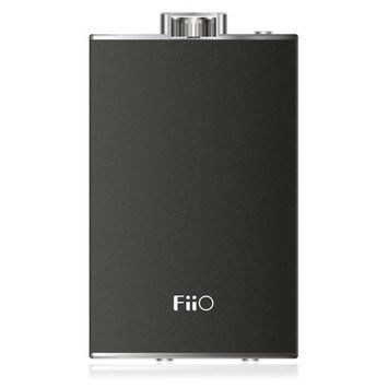 Fiio Q1 190mW Portable Headphone Amplifier and DAC, Black