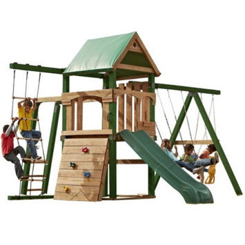 Swing-N-Slide Grand Trekker Wooden Play Set