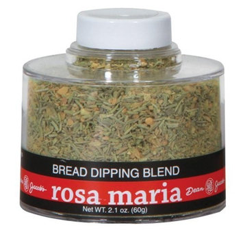 Dean Jacob's Rosa Maria Bread Dipping Blend, 2.1 Oz Stacking Jar