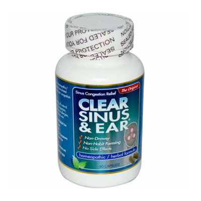Clear Products Clear Sinus and Ear 60 Capsules