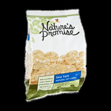 Nature's Promise Sea Salt Natural Soy Crisps