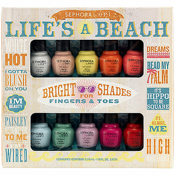 SEPHORA by OPI Life's A Beach Mini Kit
