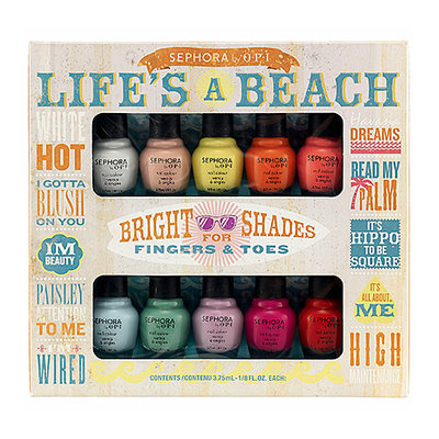 SEPHORA by OPI Life's A Beach Mini Kit