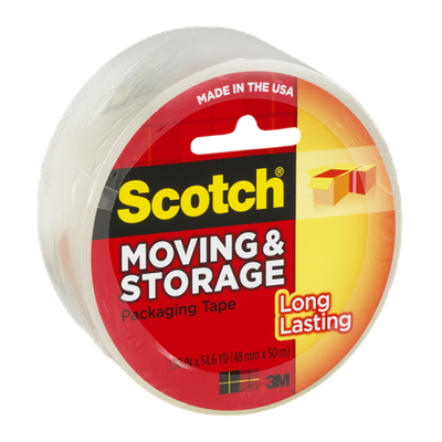 Scotch Moving & Storage Packaging Tape Roll Refill (3650)