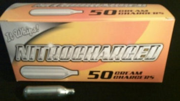 200 (NITRO 50) Whipped Cream Chargers - 8.5g Supercharged N2O - 4 boxes of 50 NITRO