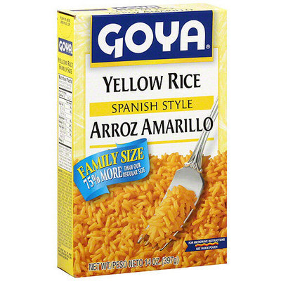 Goya Spanish Style Yellow Rice, 14 oz (Pack of 18)