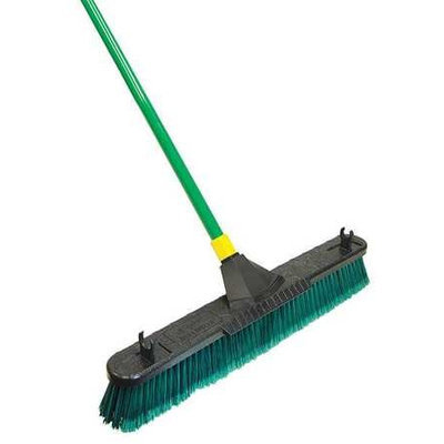 TOUGH GUY 13D520 Push Broom w/Hndl, Poly Fbrs, Indr/Outdr