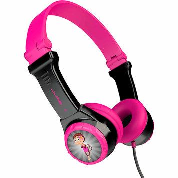 David Shaw Silverware Na Ltd JBuddies Folding Kids' Headphones - Black/Pink