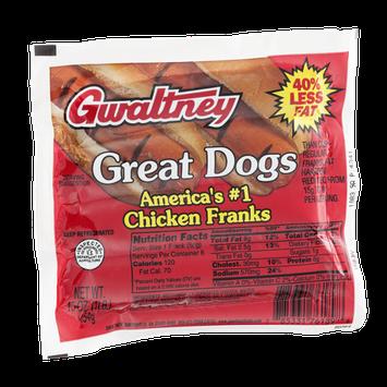 Gwaltney Great Dogs Chicken Franks