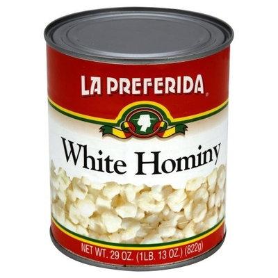La Preferida White Hominy, 29-Ounce (Pack of 12)