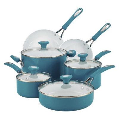 Silverstone 12-Piece Cookware Set - Blue