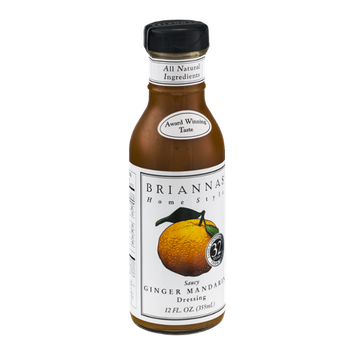 Briannas Home Style Dressing Saucy Ginger Mandarin