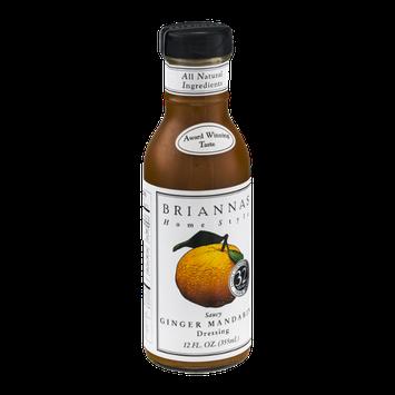 Briannas Home Style Dressing Saucy Ginger Mandarin