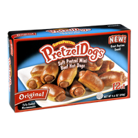 Superpretzel Original PretzelDogs - 12 CT