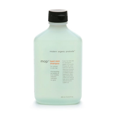 mop basil mint shampoo for normal to oily hair
