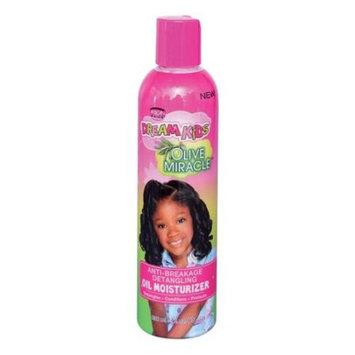 African Pride Dream Kids Olive Miracle Anti-Breakage Detangling Oil Moisturizer, 8 fl oz