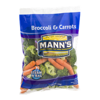 Mann's Broccoli & Carrots Steam in Bag