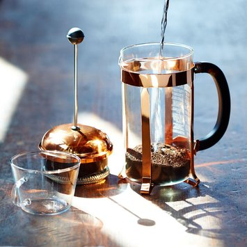 Bodum Chambord French Press Coffee Maker Size: 8 cup, Color: Copper