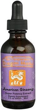 Ginseng Drops, American Dragon Herbs 2 fl oz (60 ml) Liquid