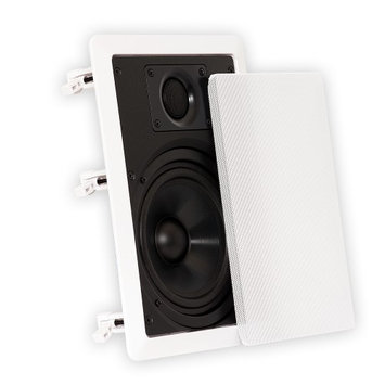 Theater Solutions 6.5 Inch In Wall Home Theater Speakers 4320 Watts 12 Pair Pack 12CS6W