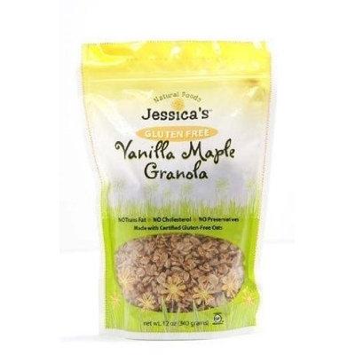 Jessica's Natural Foods GRANOLA, VANILLA MPL,G/F, (Pack of 12)