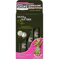 Smooth 'N Shine Olive & Tea Tree RevivOil Quench and Repair Potion