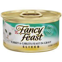 Fancy Feast® Sliced Turkey and Giblets Gourmet Wet Cat Food In Gravy