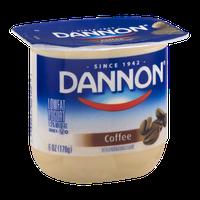 Dannon Lowfat Yogurt Coffee