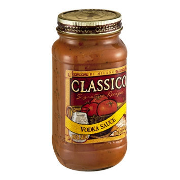 Classico Signature Recipes Vodka Pasta Sauce