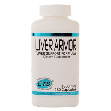 CTD Labs Liver Armor Liver Support Formula 1800mg
