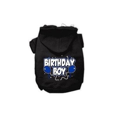 Mirage Pet Products Birthday Boy Screen Print Pet Hoodies Black Size XXL (18)
