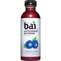 Bai, Jamaica Blueberry, 100% Natural Antioxidant Infused Beverage, 18-Ounce Bottles (Pack of 12)