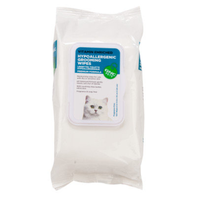 GNC Pets Hypoallergenic Cat Wipes