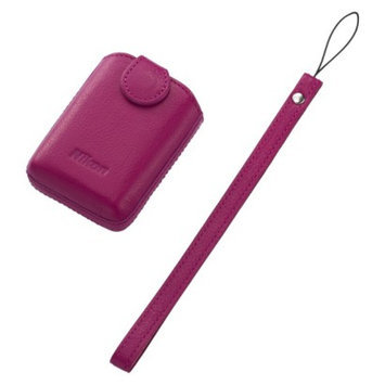 Nikon COOLPIX S01 Camera Case with Strap - Pink (25862)