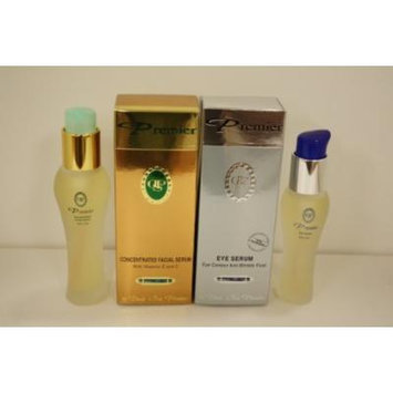 Premier Eye Serum + Concentrated Facial Serum with Vitamin E & C