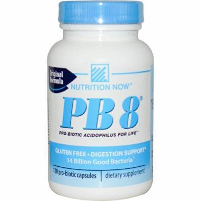 Pb 8 Original Formula Pro-biotic Acidophilus Nutrition Now Gluten Free Digestion Support 120 Capsules By Siamproviding