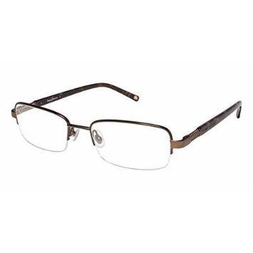 Tommy Bahama Optical Eyewear 4000 in Cognac ; DEMO LENS