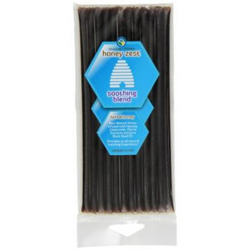 Amazing Herbs Honey Zest Soothing Straws, 12 Count