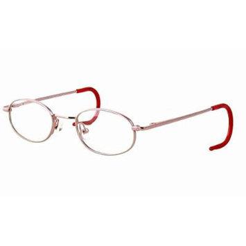 Calabria KiddyFlex 3 Pink Reading Glasses ; DEMO LENS