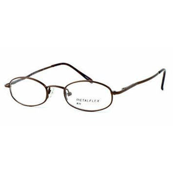 Calabria MetaFlex H Shiny Brown 44mm Reading Glasses ; DEMO LENS