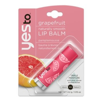Yes To Lip Naturally Smooth Lip Balm - Grapefruit